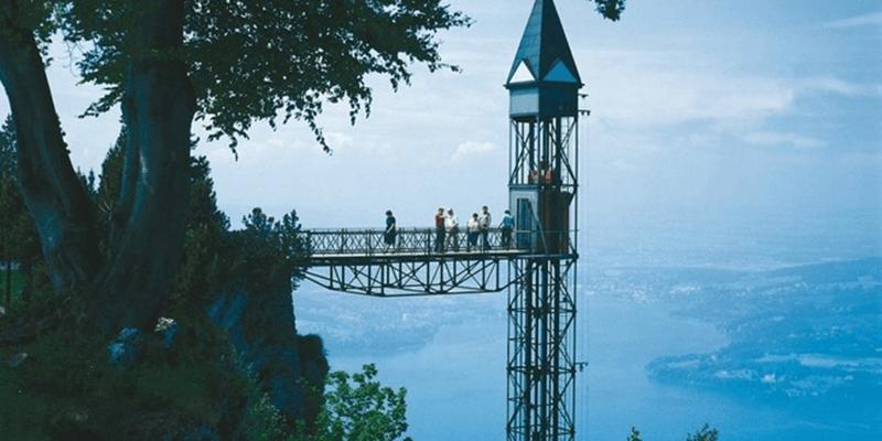 13 Pontos Turísticos incríveis, elevador